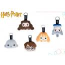 Harry Potter assorted plush keychain 5 models 8 c