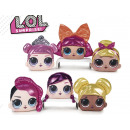 lol girls with cushion 6 assorted 20 cms