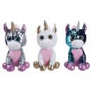 sequin unicorn 3 models 25 cms