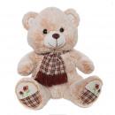 brown scarf bear 37 cms
