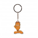 Garfield metal keychain 10 cms