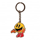 pac-man metal keychain 10 cms