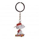 Snoopy metal keychain 10 cms