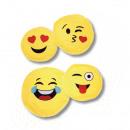amarillo emoticono circular 45 cms