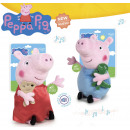 wholesale Dolls &Plush: Peppa Pig & george with sound 27 cms
