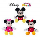 MICKEY AND MINNIE ASSORTED 22cm (real size 28cm )