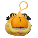 plush head keychain Garfield 6 cms