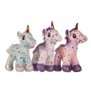 unicorn star 3 colors 34 cms