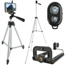 Tripod Set Cell Phones Cameras Remote Controllable