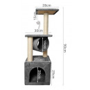 Cat Tree Tree Tower for the Cat 90cm Cottage Sisal