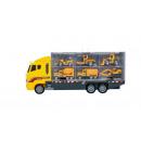 TIR truck set with 6 cars