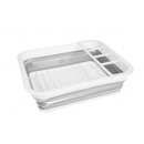 Folding dish dryer - silicone