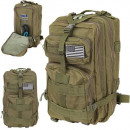 XL green military backpack