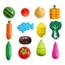 Wooden Vegetable Fruit Chopping Magnet XXL 9430