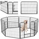 Freewheeling enclosure Puppy spout Dog run Pet bas