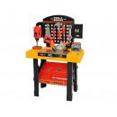 Großhandel Spielwaren: Werkzeugbank 75cm Hoch Werkbank Set Kinder 3in1 Sp
