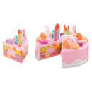 BIRTHDAY CAKE 75 pieces pieces of cake and roula