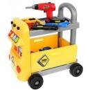 Großhandel Koffer & Trolleys: Trolley + Tools Workshop für Kinder XL 9424 Scre