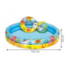 BESTWAY 51124 Children' s paddling pool 3in1 in