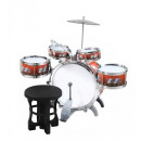 Großhandel Sonstige: Schlagzeug für Kinder XL Bass 4 Trommeln Becken Ho