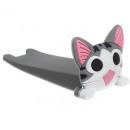 Großhandel Geschäftsausstattung: Türstopper Katze Türkeil Gummi weich, schützt Bode
