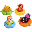 Bath Toys Set Children Lifebuoys Puzzle 4 Rings 4