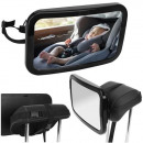 Shatterproof Car Rearview Mirror to see Child Car