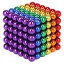 Balls Magnetic Blocks 216pcs 3mm Rainbow + Box