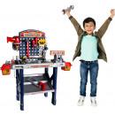 Workbench for children set do-it-yourself screws l