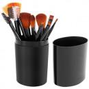 Set of 12 Professional Makeup Brushes Black 8694