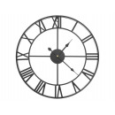 Large metal wall clock 47.5 cm Vintage wall clock