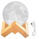 Moon Lamp 8/15 cm Moonlight Deco Lamp 3D printed l