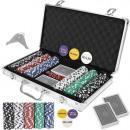 groothandel Tuin & Doe het zelf: Texas Strong 300 Tokens pokerset + koffer 9554