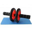 grossiste Sports & Loisirs: Ab Trainers Roller avec tapis abdominaux ABS mat