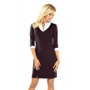 110-4 Dress with SQUARE collar