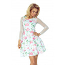 wholesale Dresses: 141-5 Dress with  TIULOWIE sleeves - ROSE