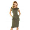 groothandel Kleding & Fashion: 144-5 SARA midi jurk - KHAKI