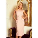 groothandel Kleding & Fashion: 144-6 SARA midi-jurk - DIRTY ROSE