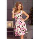 wholesale Fashion & Apparel: 160-4 Flared dress with a neckline