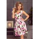 groothandel Kleding & Fashion: 160-4 Uitlopende  jurk met een halslijn