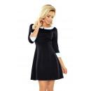 ingrosso Ingrosso Abbigliamento & Accessori: 162-1 vestito BEBE  con un collare - NERO