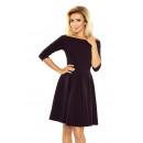 Großhandel Kleider: 163-1 Kleid mit  nackten Schultern - contrafold