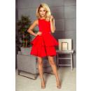 wholesale Fashion & Apparel: 169-1 CRISTINA dress flared - RED