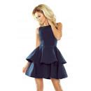 ingrosso Ingrosso Abbigliamento & Accessori: 169-2 CRISTINA  Vestito svasato - GRANATA