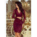 170-5 Lace dress with long sleeves