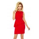 Großhandel Kleider: 178-1 asymmetrisches Kleid mit Weste - ...