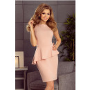 Großhandel Kleider: 178-3 Asymmetrisches Kleid mit einem ...