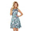 ingrosso Ingrosso Abbigliamento & Accessori: 184-1 abito svasato in rose blu