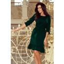 ingrosso Ingrosso Abbigliamento & Accessori: 193-9 Maya Dress con fronzoli e cintura