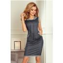 Großhandel Kleider: 202-4 Kleid mit Tasche und Kapuze - Känguru